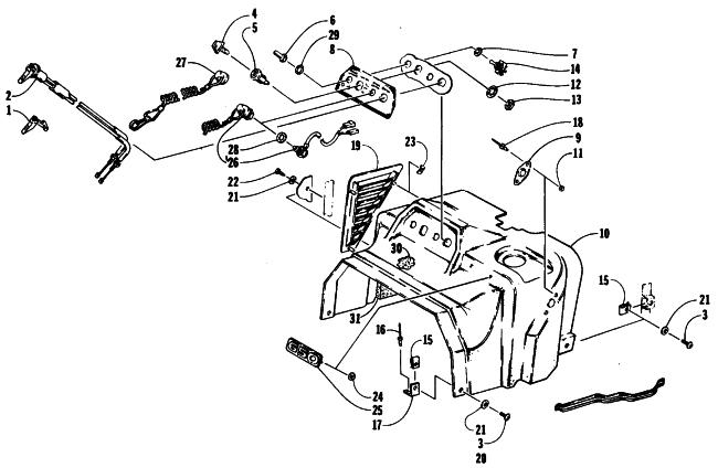 89 1990 Arctic Cat Parts